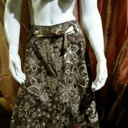 skirt with boho lace.