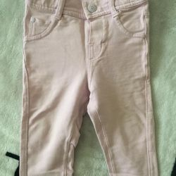 Jeans for girl 68 size