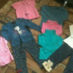 Вещи на девочку 2 -3 года и обувь