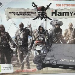 Hamy 4 ( sega  и dendy ) 350 игр новая