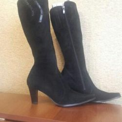 Women's boots suede demi MANUL.