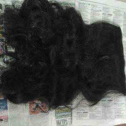 Saç 55 cm kalitelidir.