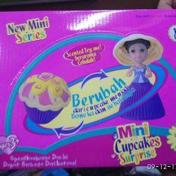 Cupcakes mini pupae