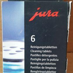 Tablete pentru curățarea sistemului hidraulic de mașini de cafea Jura