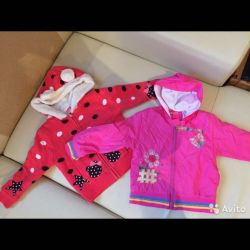 Jacket for the spring 2 pcs 2-4 years