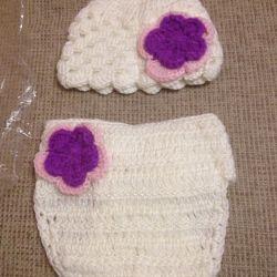 Trusă nouă tricotată pentru fotografii