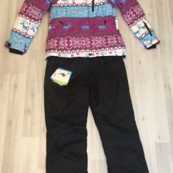 Ski suit warm 48 size
