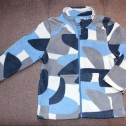 Fleece jacket Crokid 98 cm