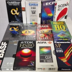 Видеокассета VHS TDK HS-180 Аgfa E-180 Panasonic