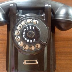 Retro telefon 1961 g cu dispozitiv de apelare