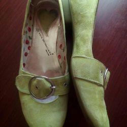 Ballet shoes, suede, LEA FOSCATI, p. 40