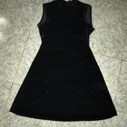 Dress from velvet, in excellent condition.