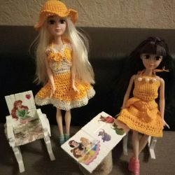 Φόρεμα ανοιχτό για κούκλες