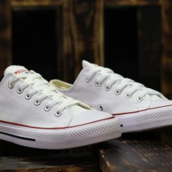 ALL STAR Converse White Low Top Sneakers