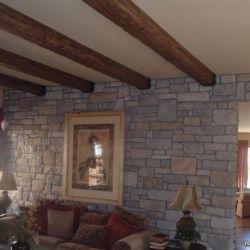 Polyurethane decorative beams