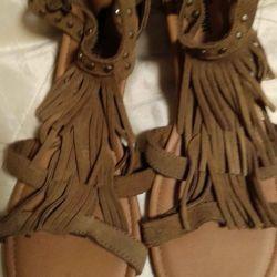 New Suede Sandals