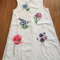 Платье шикарное 7-9 лет