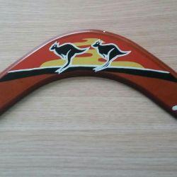 Souvenir boomerang.