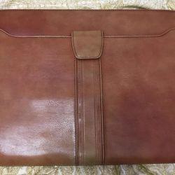 Мужская папка для документов (Натуральная кожа)