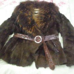 Beaver Γούνινο παλτό