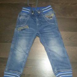 Jeans pentru 2-3 ani