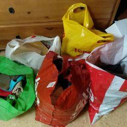 Пакет вещей на мальчика от 0 до года