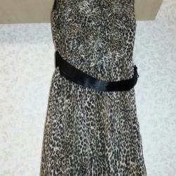 Dress cocktail leopard