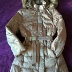 Genç kız Geox için ceket aşağı