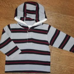 Hooded sweatshirt company Gymboree. Used 18-24 months