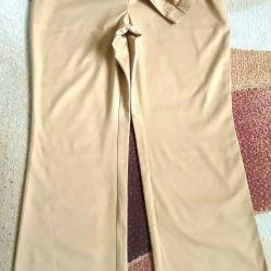 Pantolon ithal .54-56, uzunluk 101. Aşınmış değil.