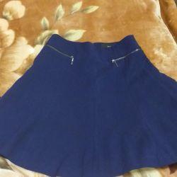 The skirt is school.