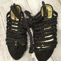 Sandals Zara, 38 size