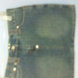 Джинса юбочка 42 размер