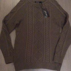 Νέο βαμβακερό πουλόβερ