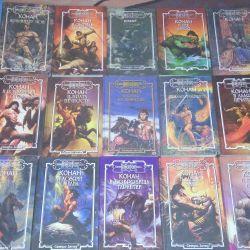 19 cărți. Conan