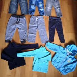 Pack for fall for a boy 86-92