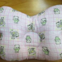 NEW anatomical pillow (flannel)