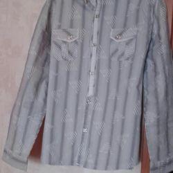Ανδρικό πουκάμισο 46-48 r