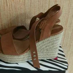 Summer sandals Stradivarious 38
