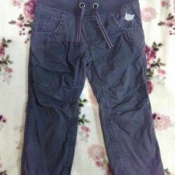 Warmed trousers