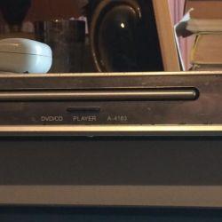 Akai A-4183 DVD player με καραόκε και τηλεχειριστήριο