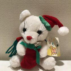 Noel Teddy Yumuşak oyuncak, yeni.