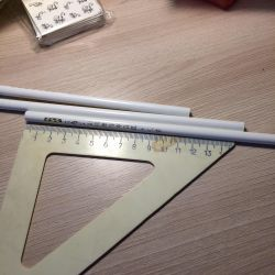 Pencil for clutch strasses