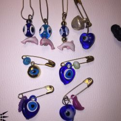 Brooches / pins from the evil eye ?