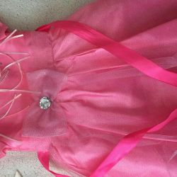 Απαλή ροζ χρώμα φόρεμα