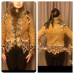 Double-sided Natural Sheepskin Coat