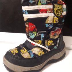 Ботинки Тачки 28 размер зима