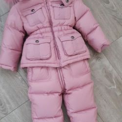 Winter suit coverall feather down Borelli