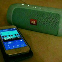 JBL Charge 2+ green external bluetooth speaker