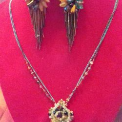 Necklace and beads